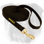 Nylon English Bulldog Leash for Training and Tracking