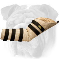 Lightweight Hidden Jute English Bulldog Bite Sleeve for Protection Training