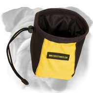 Fast Reward English Bulldog Treat Bag with a Belt Clip
