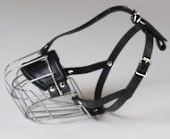 Light Weight Wire Basket Dog Muzzle for English Bulldog