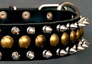 Spiked Dog Collars & Studded Dog Collars for English Bulldog