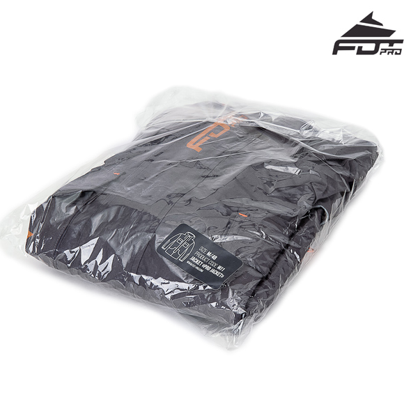 FDT Pro Dog Trainer Jacket with Best quality Velcro Fastening