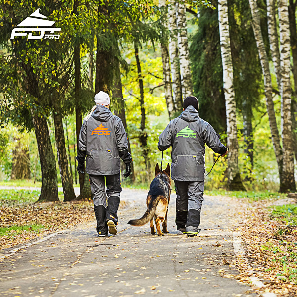 Pro Dog Trainer Jacket of Best Quality for All Weather