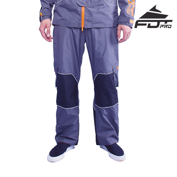 FDT Professional Pants of Grey Color for Everyday Use