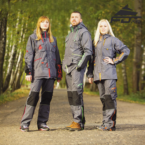 Durable Dog Training Suit for Any Weather