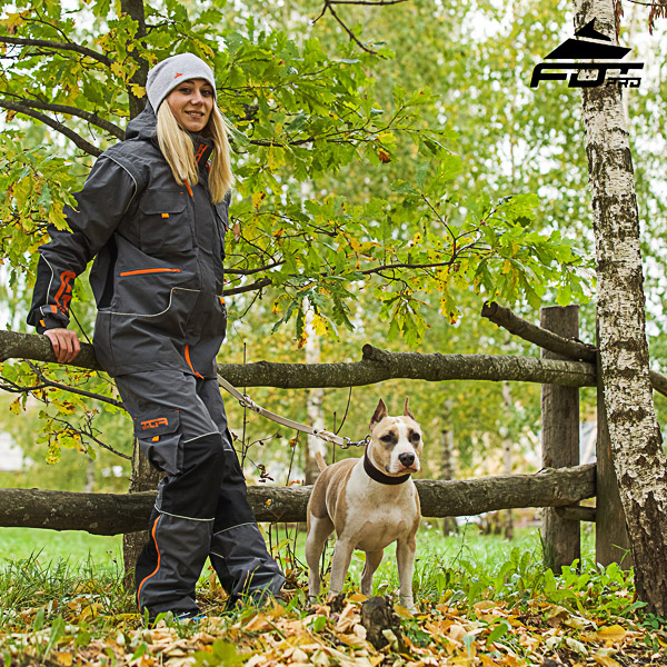 Convenient Back Pockets on Unisex Design Pants for Active Dog Trainers