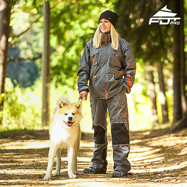 Men and Women Design Dog Training Jacket of Quality Materials