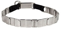Stainless Steel English Bulldog Collar made in Germany - 19 inch (48 cm)