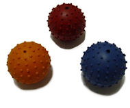 English Bulldog Rubber Ball Dog Toy 2 1/3 inches - TT16