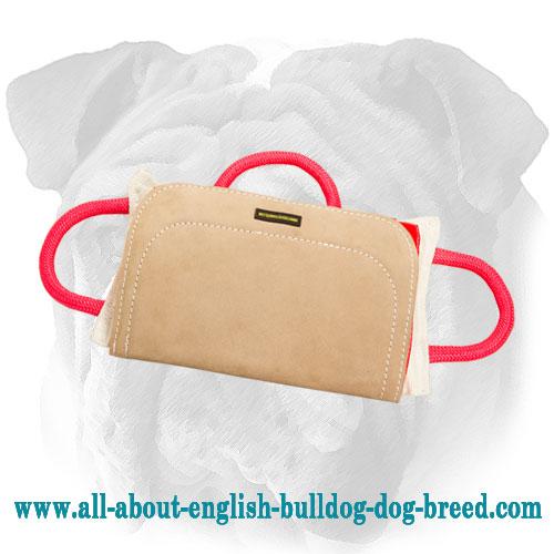 professional english bulldog bite pillow for advanced training