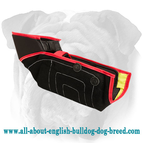 Top quality English Bulldog bite sleeve for advanced  training
