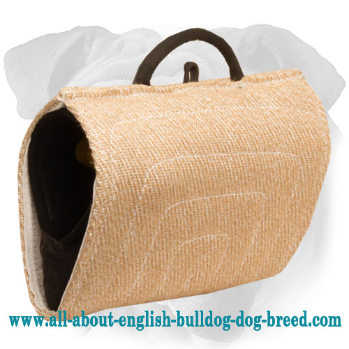 Jute English Bulldog Bite Builder for Proper Grip Building