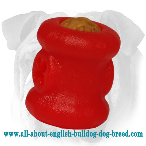Small Foam Fire Plug English Bulldog Chewing Toy