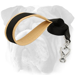 Nylon English Bulldog Lead with Strong Buckle